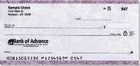 Plumb marble personal check