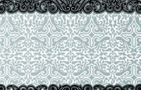Black and gray abstract design.